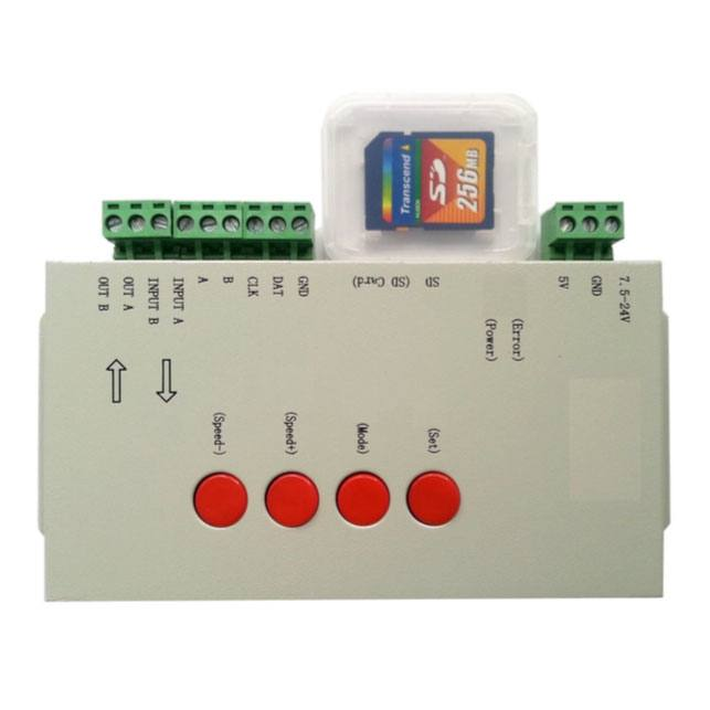 Control para led digital