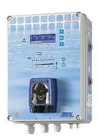Otro modelo de clorador BSPOOL de mediados de la década del 2000