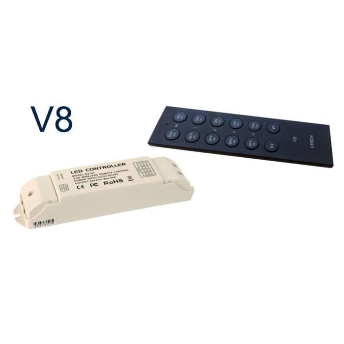 Controlador RGBW V8