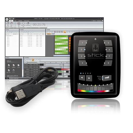 Interface USB-DMX avec écran tactile