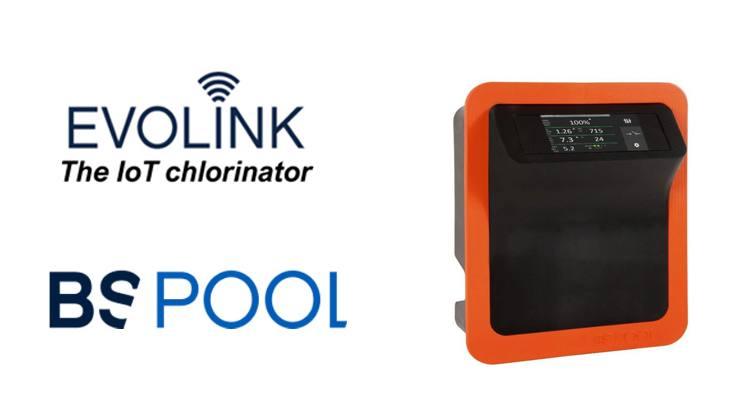 El primer clorador inteligente del mercado, EVOLINK, es un producto de BSPOOL