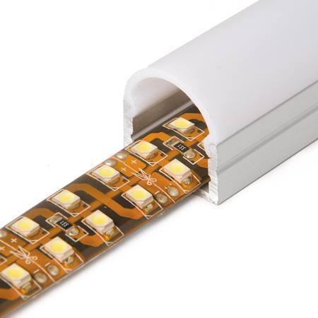 Perfil alumini 16mm rodó