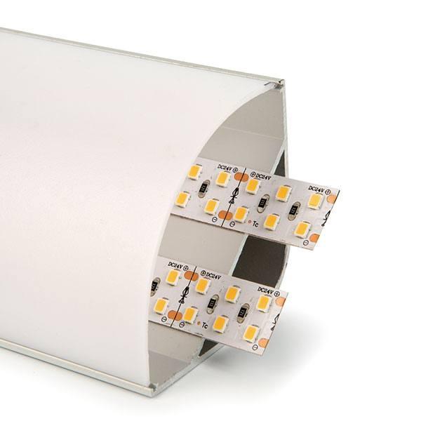 Perfil d'alumini cantoner 55mm