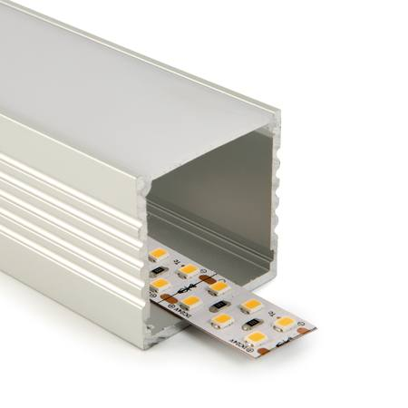 Perfil aluminio superficie 31mm