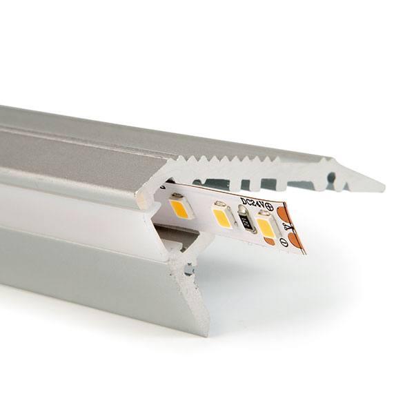 Perfil d'alumini per a esglaons