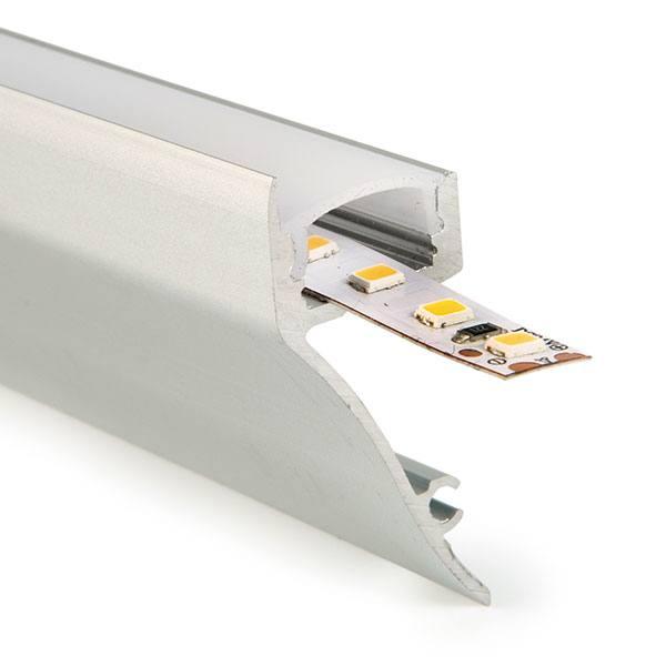 Perfil de aluminio para zÓcalos