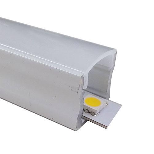Perfil aluminio superfície estándar blanco