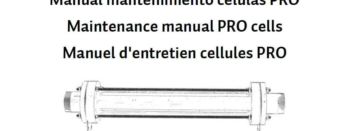 Manual de limpieza y mantenimiento de células PRO de BSPOOL