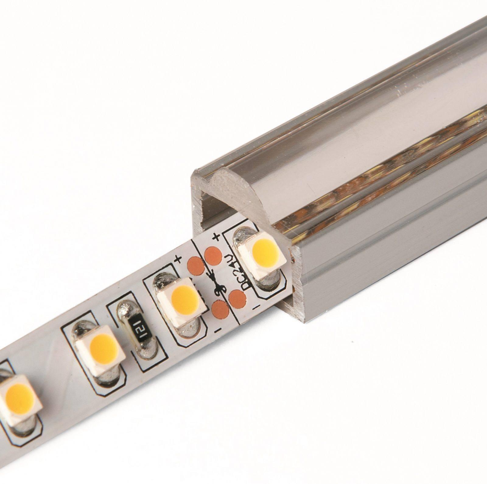 Profilé d'aluminium 16mm avec optique